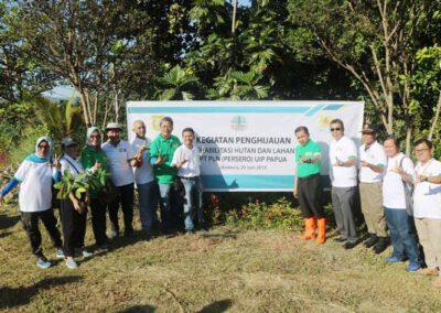 Program Penanaman 1111 Pohon di Lembah Furia sebagai Rangkaian Kegiatan Hari Lingkungan di Kota Jayapura